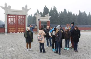 About to enter the Temple of Heaven