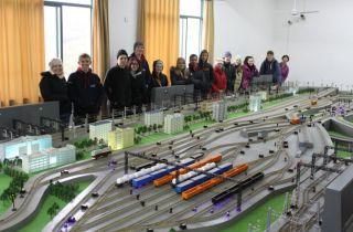 The coolest train set we've seen